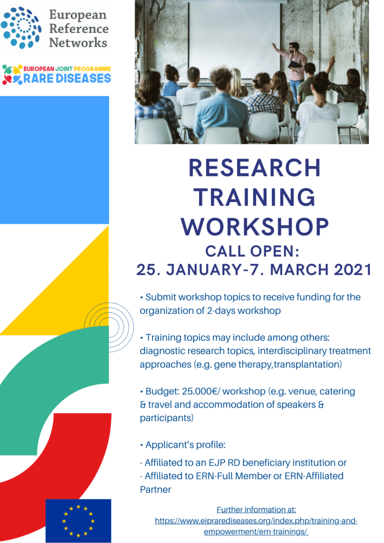 Research training workshop
